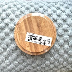 Free w Purchase! Set of 2 Bamboo Coasters